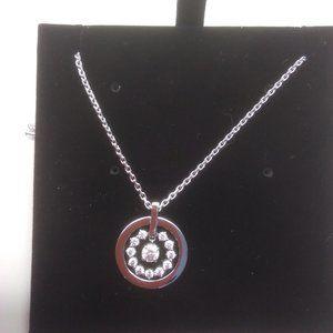 Swarovski New Silver Crystal Necklace